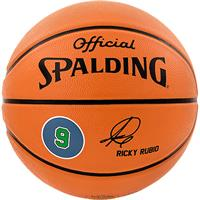 Spalding NBA Playerball Ricky Rubio Indoor/Outdoor Str. 7